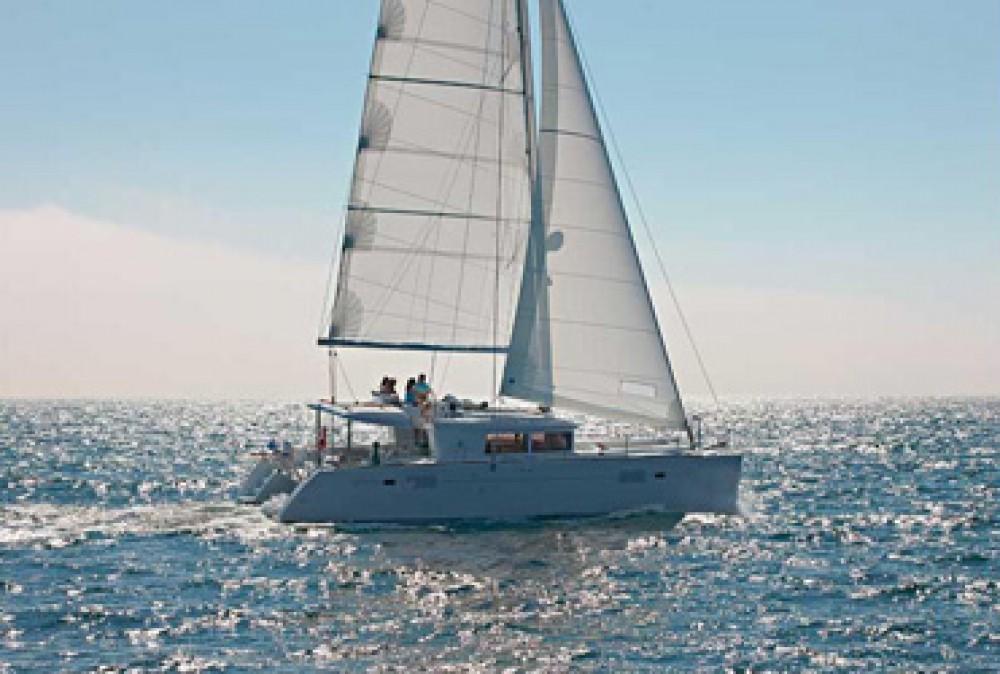 Boat rental Saint Martin (France) cheap Lagoon 450