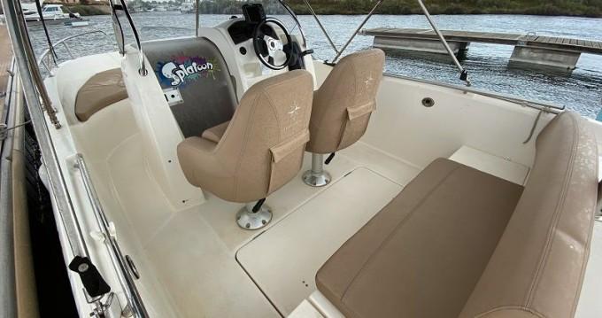 Rental Motorboat in Antibes - Jeanneau Cap Camarat 6.5 CC Serie 2