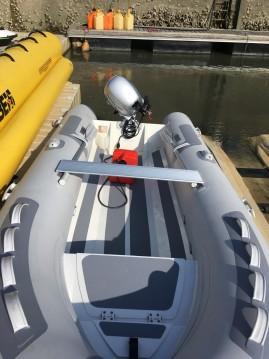 Boat rental Guérande cheap Cadet 390 Rib Alu Dl