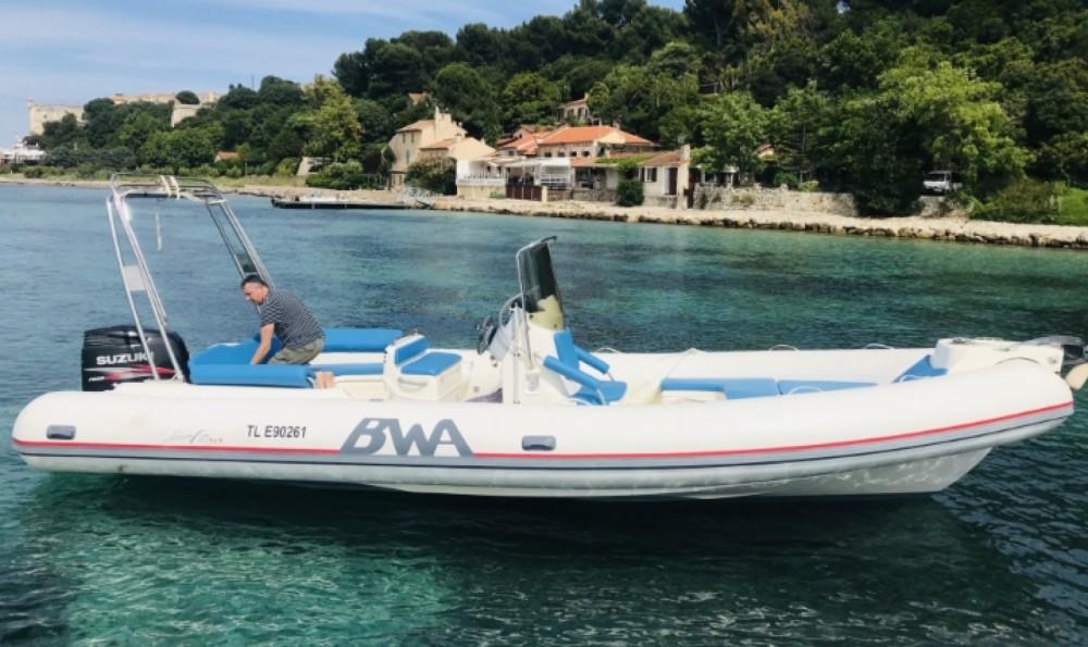 Boat rental Hyères cheap BWA 26 gt sport
