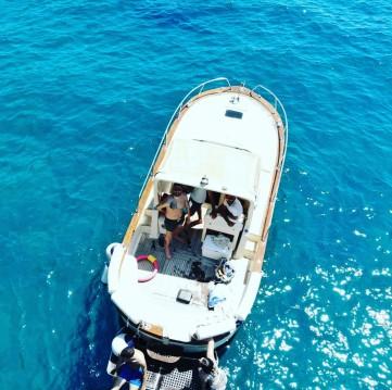 Boat rental Positano cheap 7,50