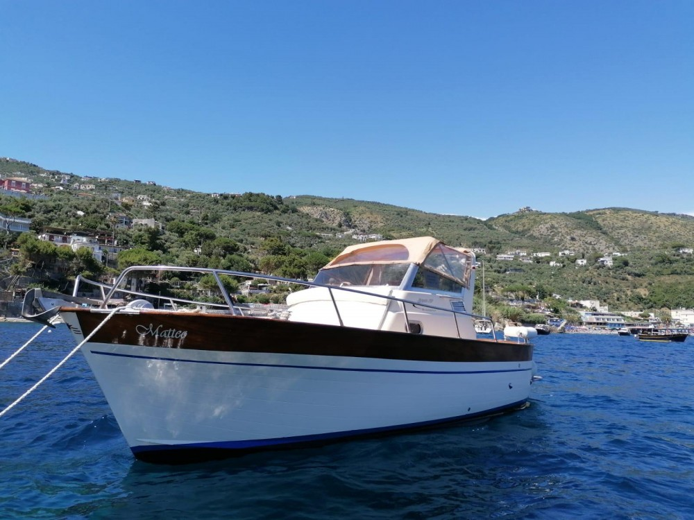 Hire Motorboat with or without skipper Apreamare Positano