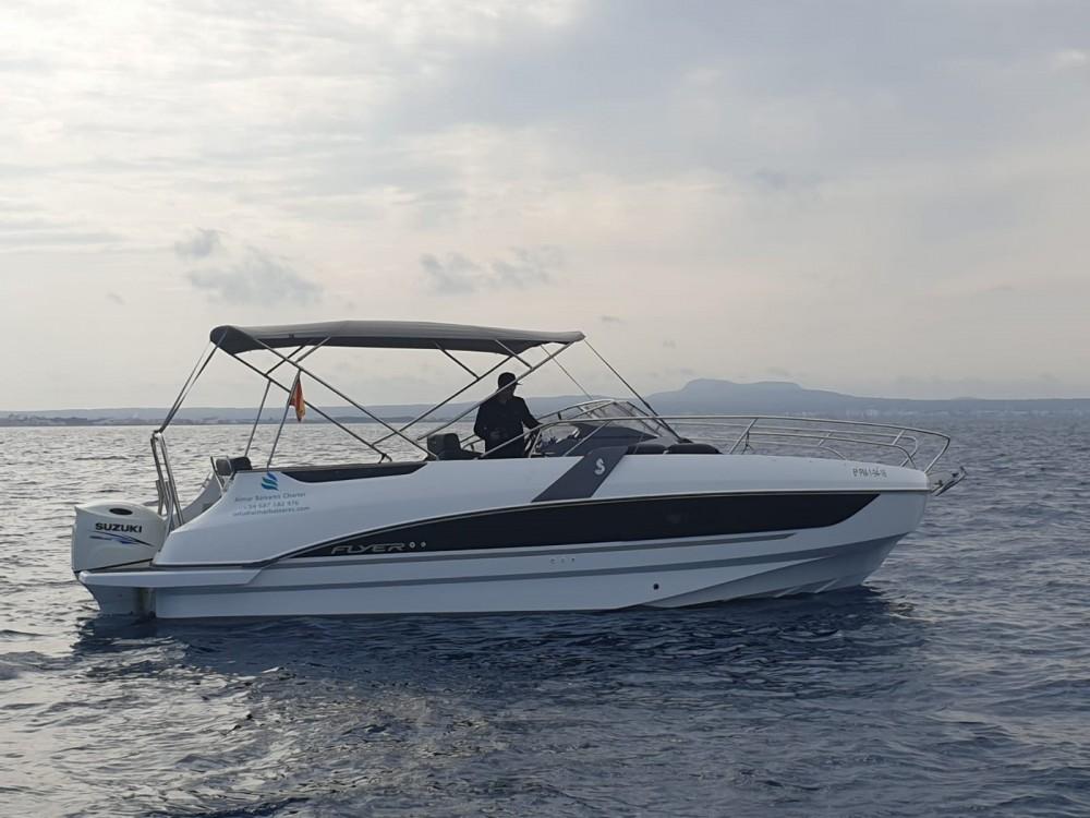 Boat rental  cheap Flyer 8.8 SUNdeck