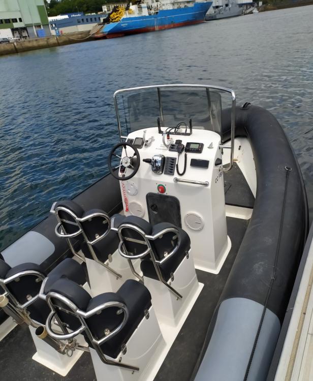 Boat rental Ribcraft 780 in Concarneau on Samboat