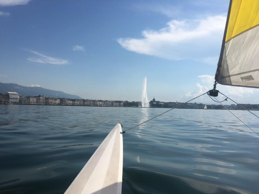 Rental Catamaran in Geneva - Hobie Hobie Cat 18