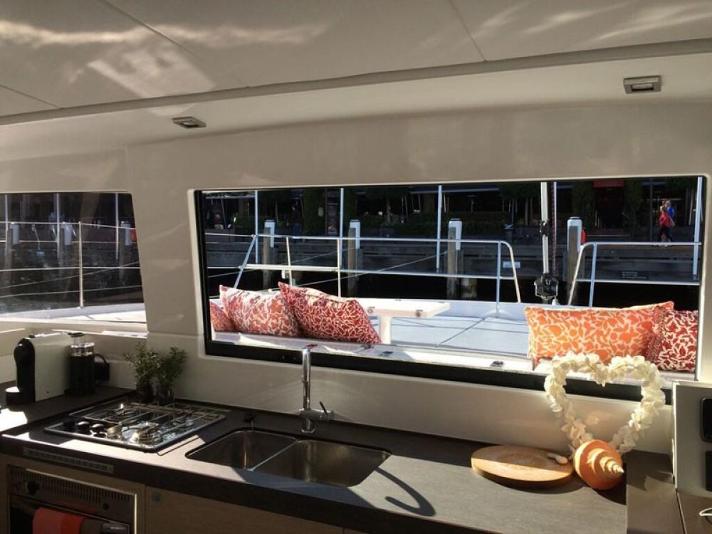 Rental Catamaran in Papeete - Catana Bali 4.3