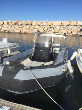 Hire RIB with or without skipper Sillinger Argelès-sur-Mer