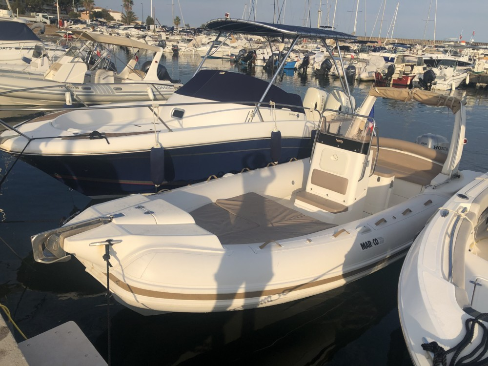 Hire RIB with or without skipper Mar.Co Sainte-Maxime