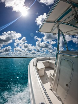 Hire Motorboat with or without skipper contender 28 Bayahibe