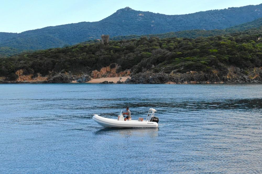 Boat rental Propriano cheap Medline 580