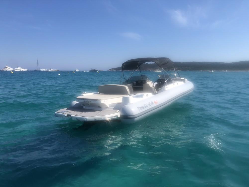 Marlin Boat Marlin Boat 24SR FB between personal and professional Grimaud