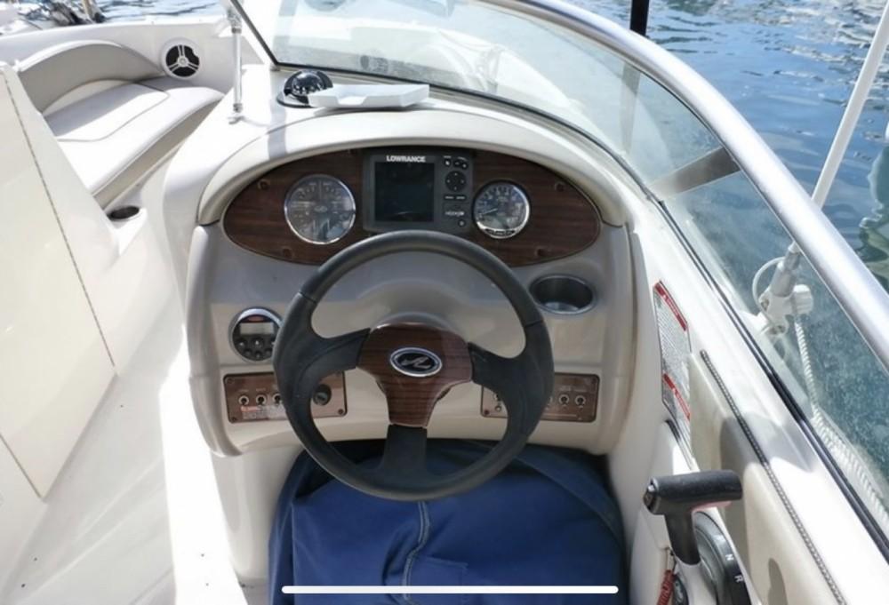 Boat rental Nerja cheap Sea Ray 200 Sundeck