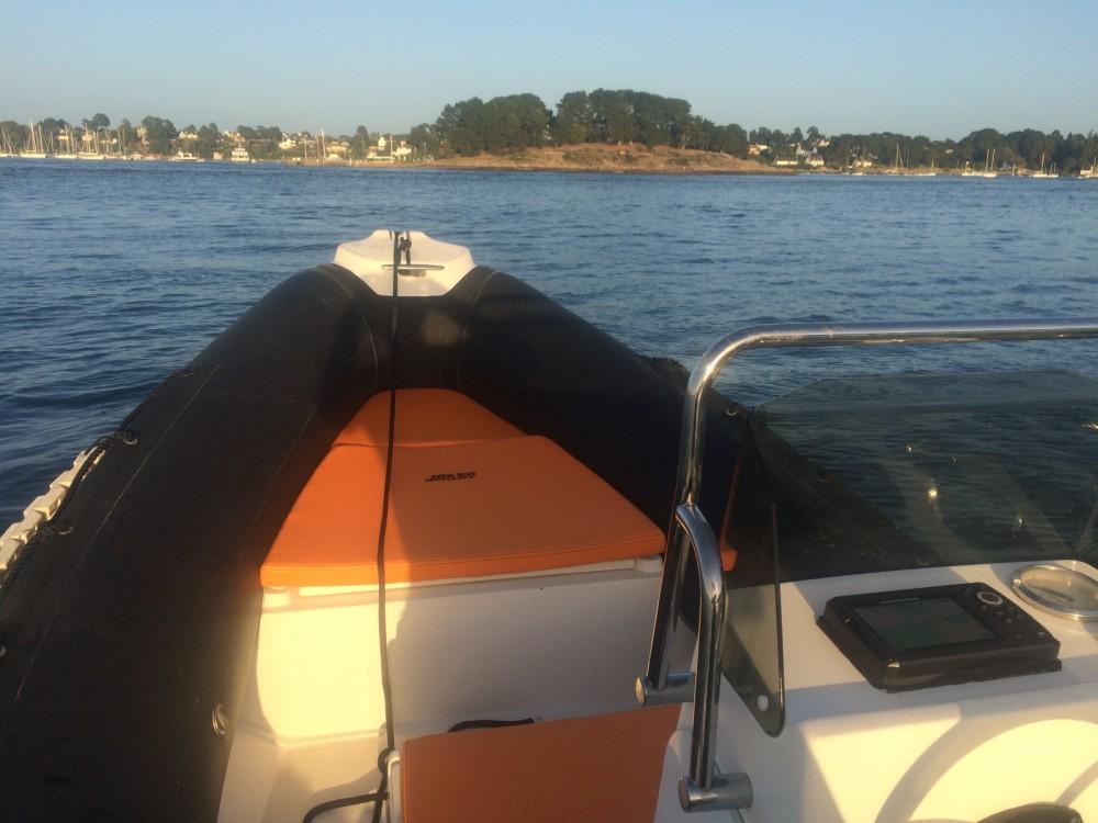 Boat rental Île-aux-Moines cheap Coaster 470