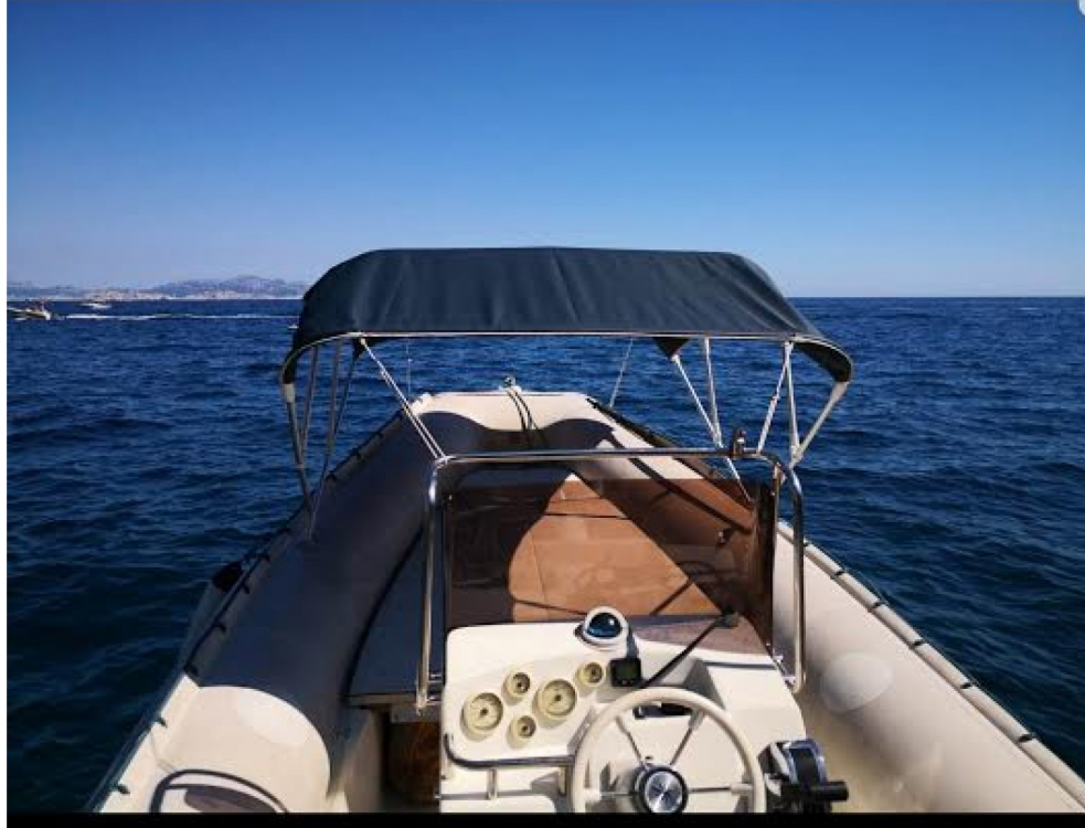 Boat rental Marseille cheap Flash 650