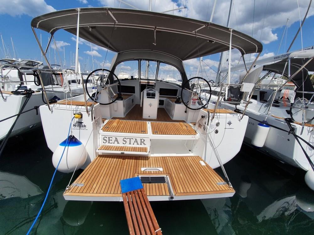 Boat rental Croatia cheap Sun Odyssey 440