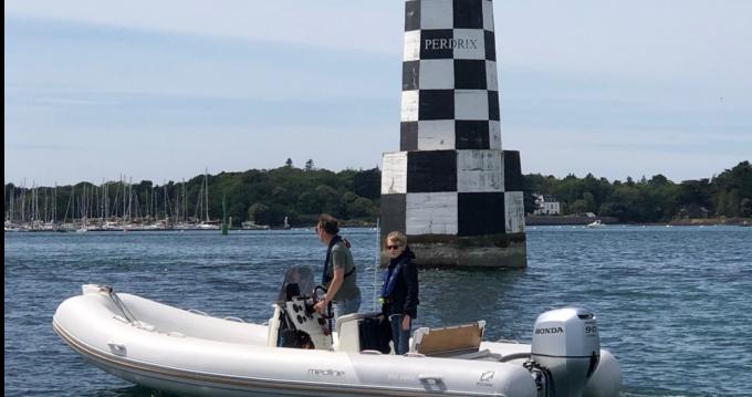 Rental yacht Bénodet - Zodiac Medline 580 on SamBoat