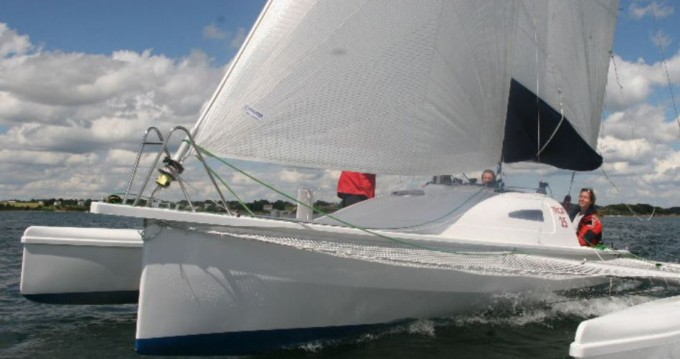 Rental Sailboat Tricat with a permit