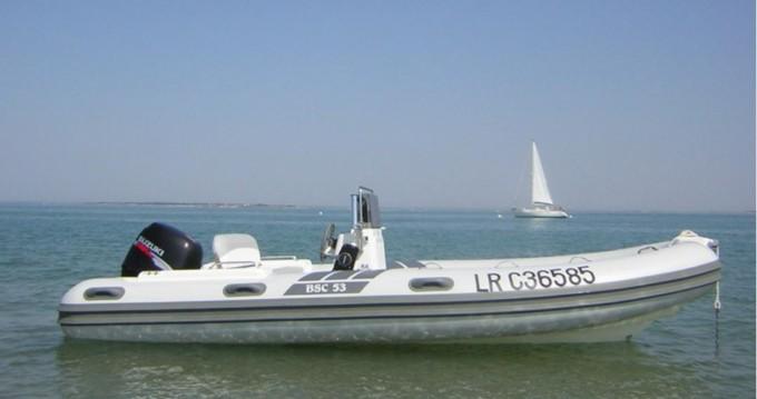 Boat rental La Trinité-sur-Mer cheap BSC 53