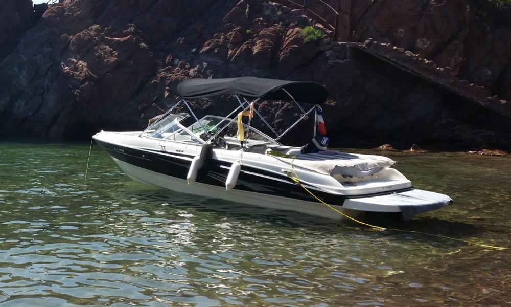 Boat rental Mandelieu-la-Napoule cheap Bayliner 185 BR