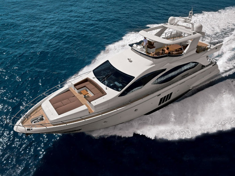 Boat rental Azimut Azimut 86S in  on Samboat