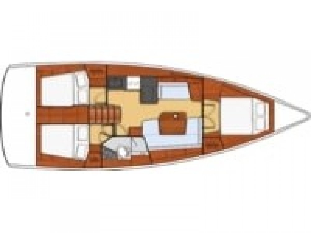Bénéteau Oceanis 411 between personal and professional Salerno