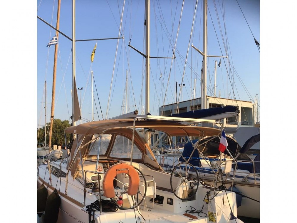 Jeanneau Sun Odyssey 349 between personal and professional Lefkada