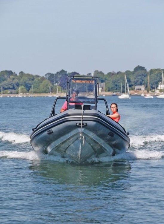 Rental RIB in La Trinité-sur-Mer - Highfield Patrol 600