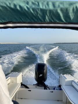 Chris Craft Sea Hawk 216 between personal and professional Lège-Cap-Ferret