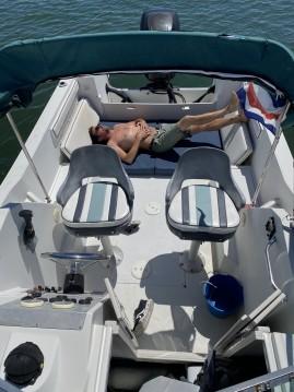 Boat rental Chris Craft Sea Hawk 216 in Lège-Cap-Ferret on Samboat
