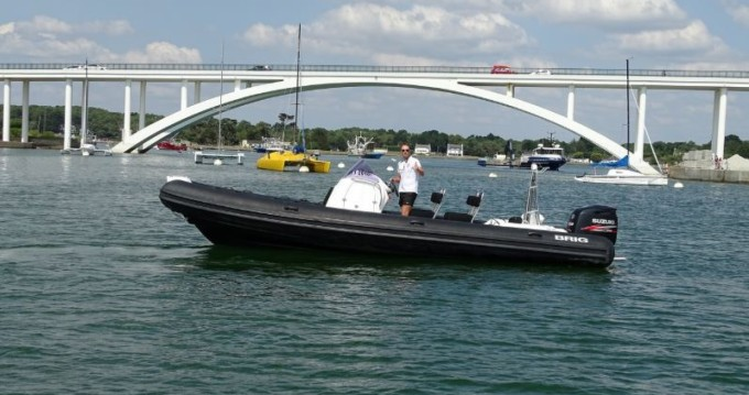 Hire RIB with or without skipper Brig La Trinité-sur-Mer