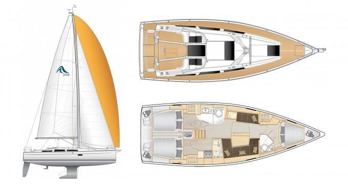 Rental yacht Préveza - Hanse Hanse 418 on SamBoat