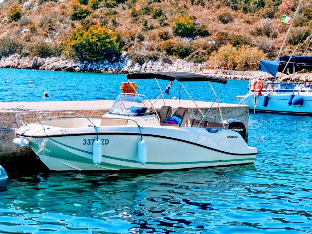 Hire Motorboat with or without skipper Quicksilver Grad Zadar