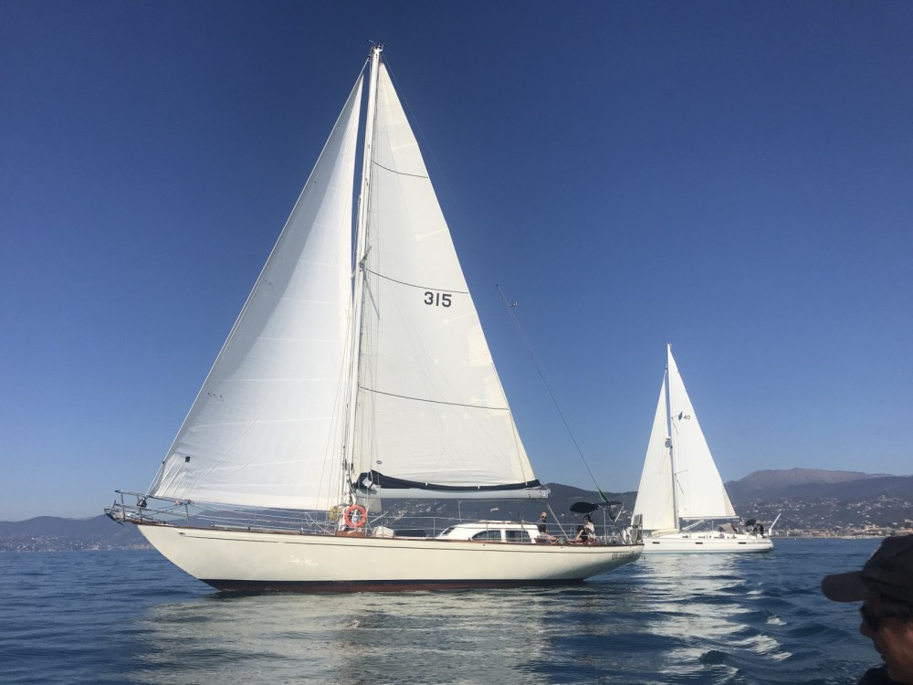 Sailboat for rent Alghero at the best price