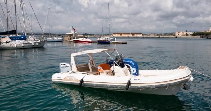 Rental RIB Mar-Co with a permit