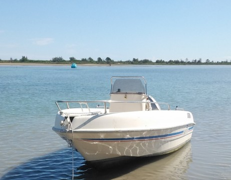 Hire Motorboat with or without skipper Saver Quarto d'Altino