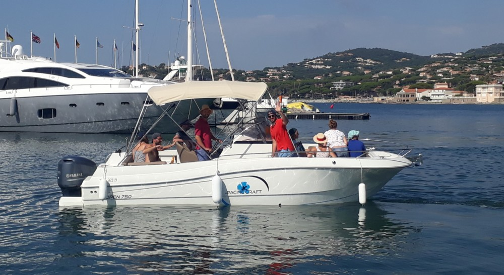 Rental yacht Sainte-Maxime - Pacific Craft Pacific Craft 750 Open on SamBoat