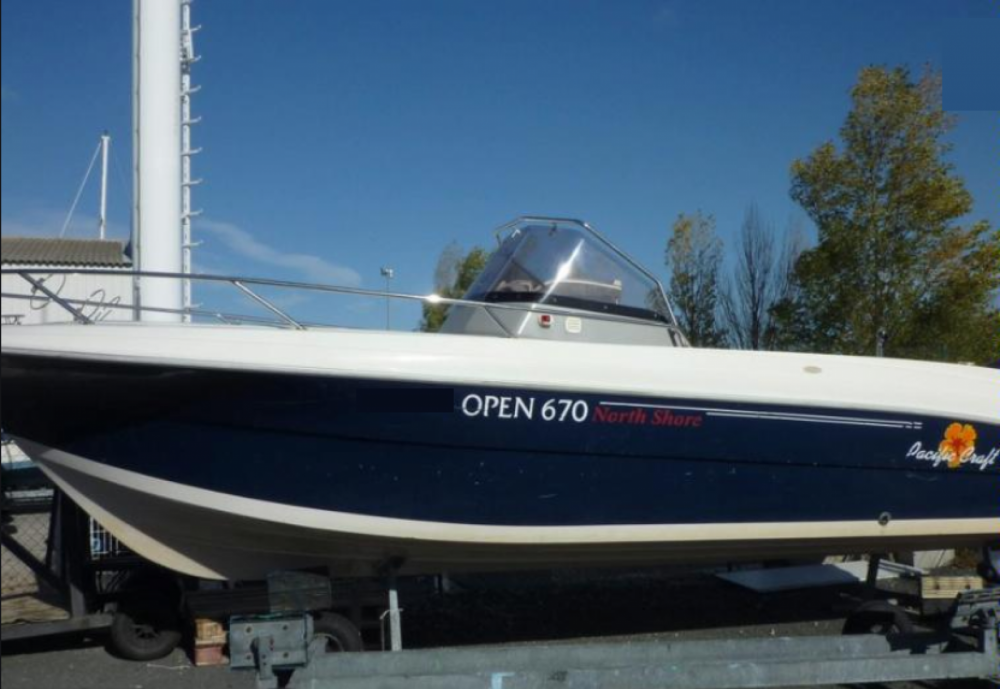 Pacific Craft Pacific Craft 670 Open Trendy North Shor between personal and professional Noirmoutier-en-l'Île