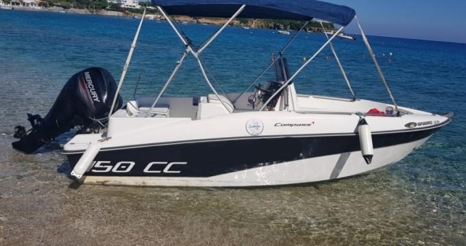 Boat rental Compass Compass 150 CC in Agia Pelagia on Samboat