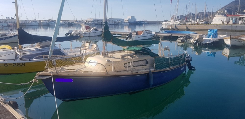 Rental Sailboat furstenau with a permit