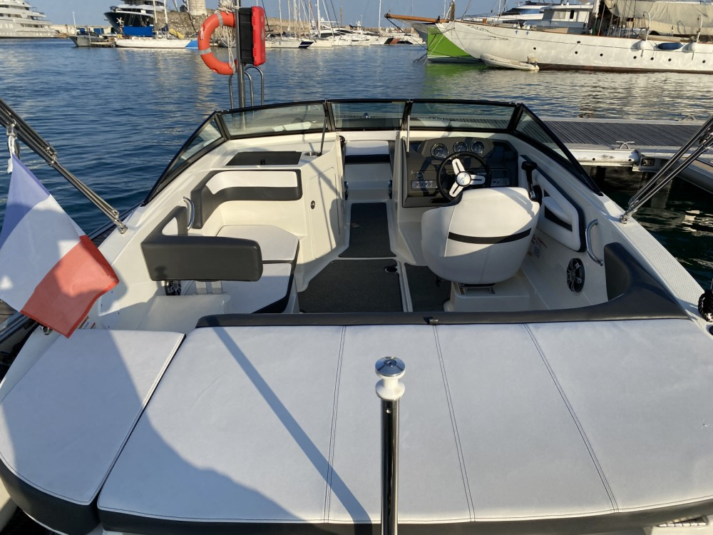 Rental Motorboat in Antibes - Sea Ray SPX 190 OB