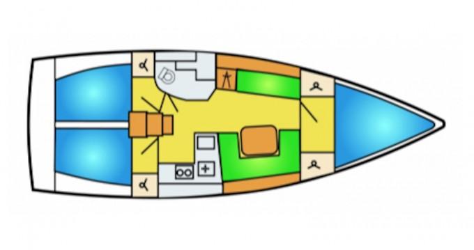 Boat rental Préveza cheap Hanse 385