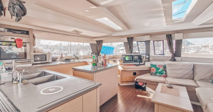 Fountaine Pajot Saba 50 between personal and professional Eden Island