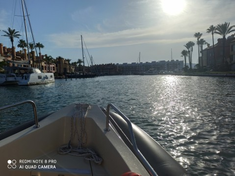 Cobra Hybrid 5,80 between personal and professional Sotogrande