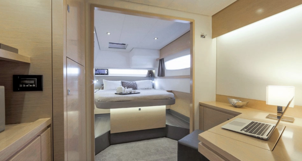 Fountaine Pajot Saba 50 between personal and professional La Rochelle