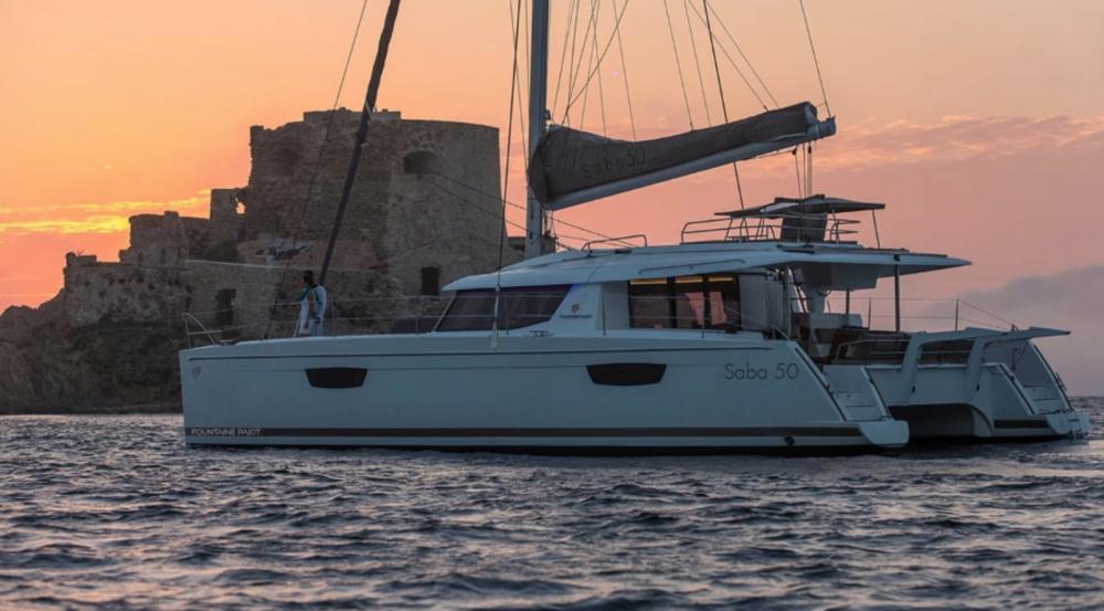 Rental Catamaran in La Rochelle - Fountaine Pajot Saba 50