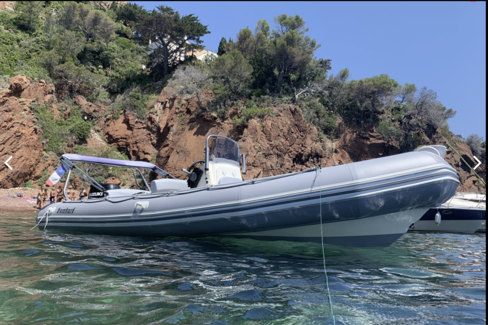 Bombard Explorer 640 between personal and professional Mandelieu-la-Napoule