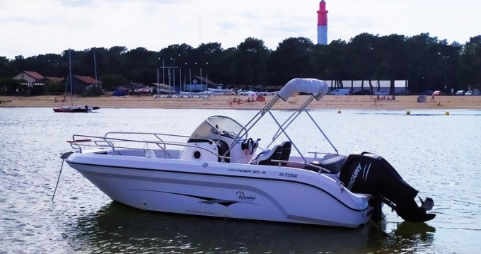 Ranieri Voyager 21 S between personal and professional Arcachon