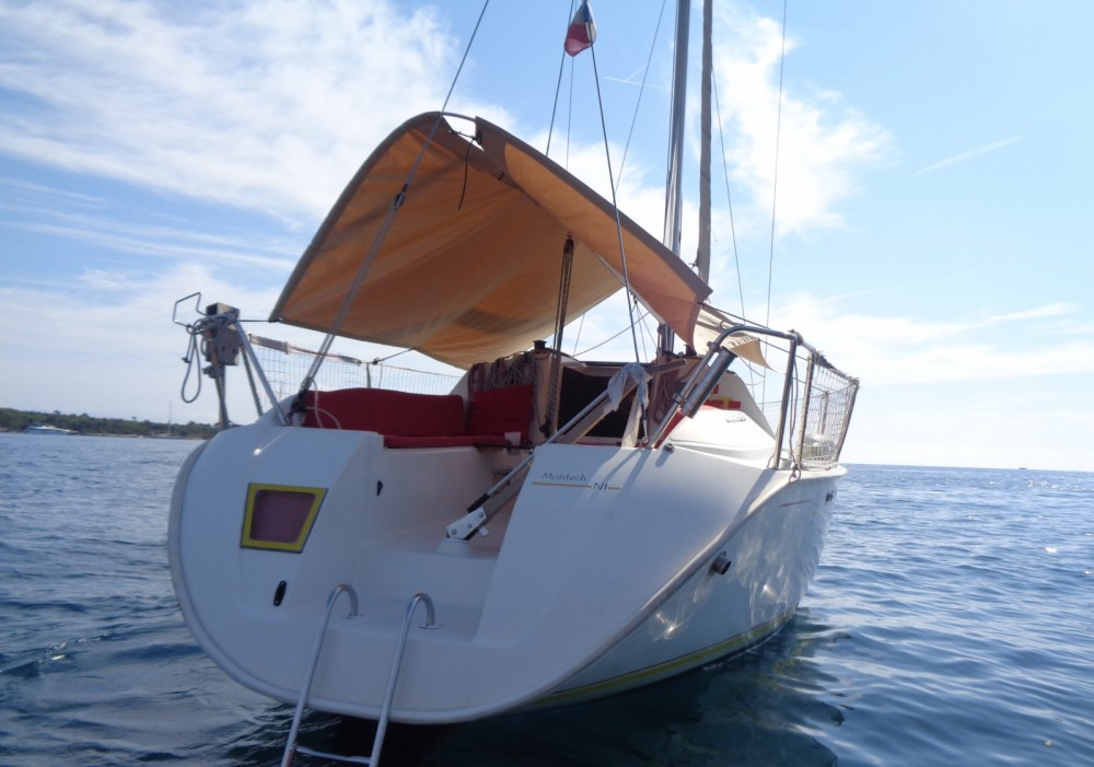 Sailboat for rent Vallauris at the best price