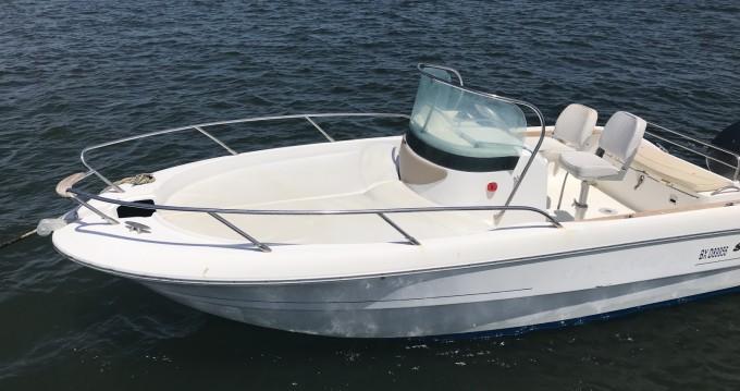Sessa Marine Key Largo 20 between personal and professional Lège-Cap-Ferret