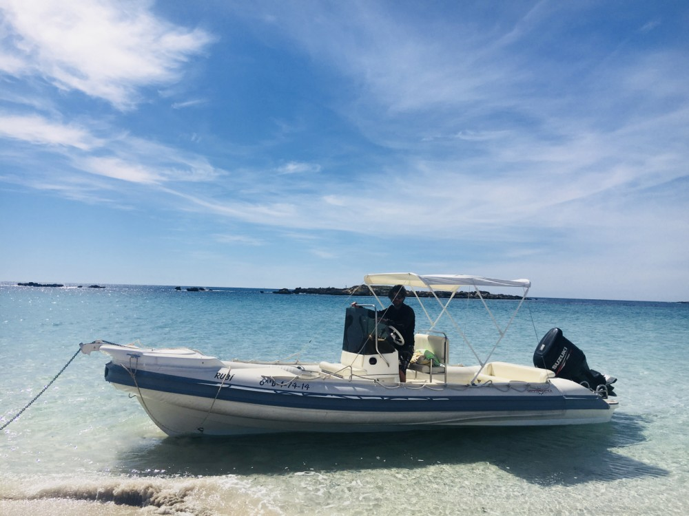 Gommonautica G65 between personal and professional Ibiza